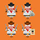Sheep Cowboy - GraphicRiver Item for Sale