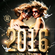 NYE Party | Classy Flyer Template - GraphicRiver Item for Sale