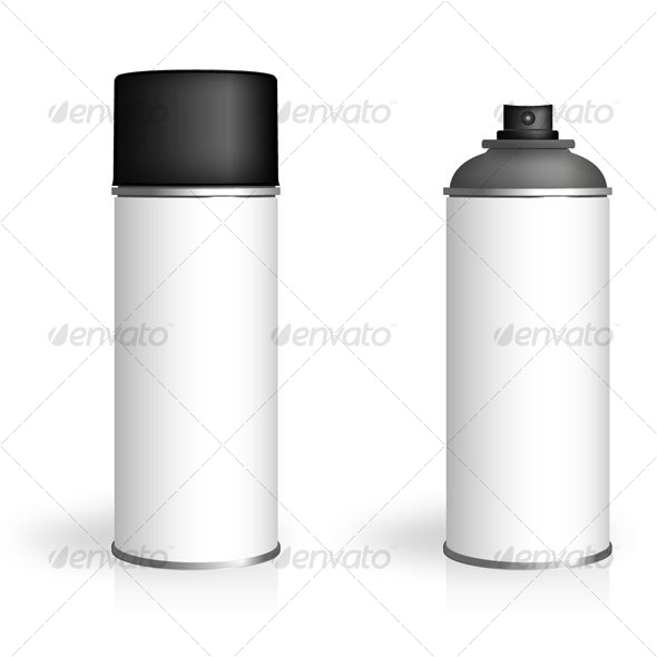 Aerosol Spray Can By Mrbromley Graphicriver