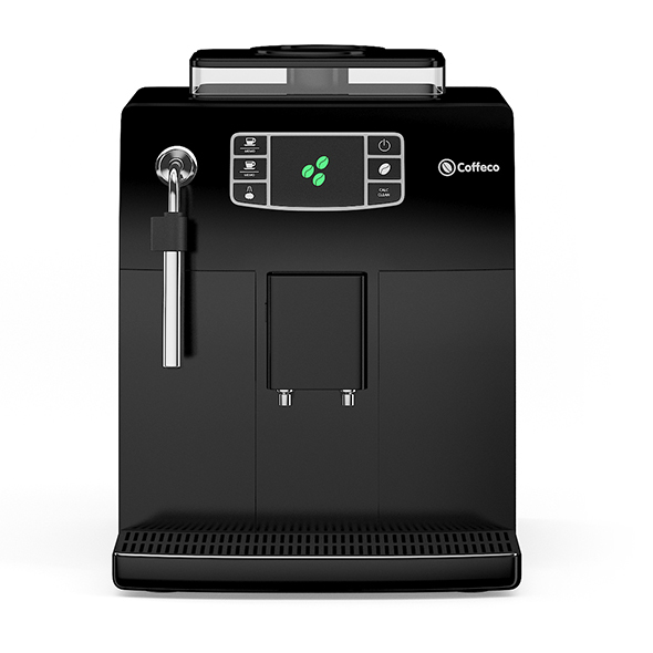 Black Espresso Coffee Machine - 3DOcean Item for Sale