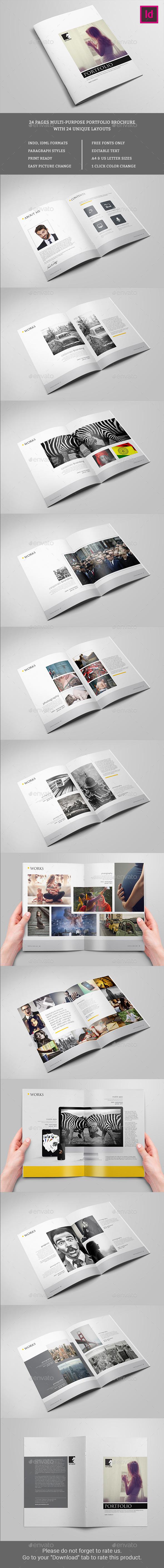 Ports Portfolio Brochure - Portfolio Brochures