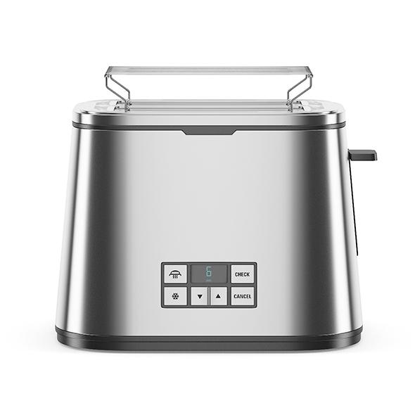 Metal Toaster - 3DOcean Item for Sale