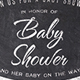 Chalk Baby Shower Invite - GraphicRiver Item for Sale