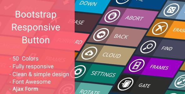 Bootstrap Responsive Button