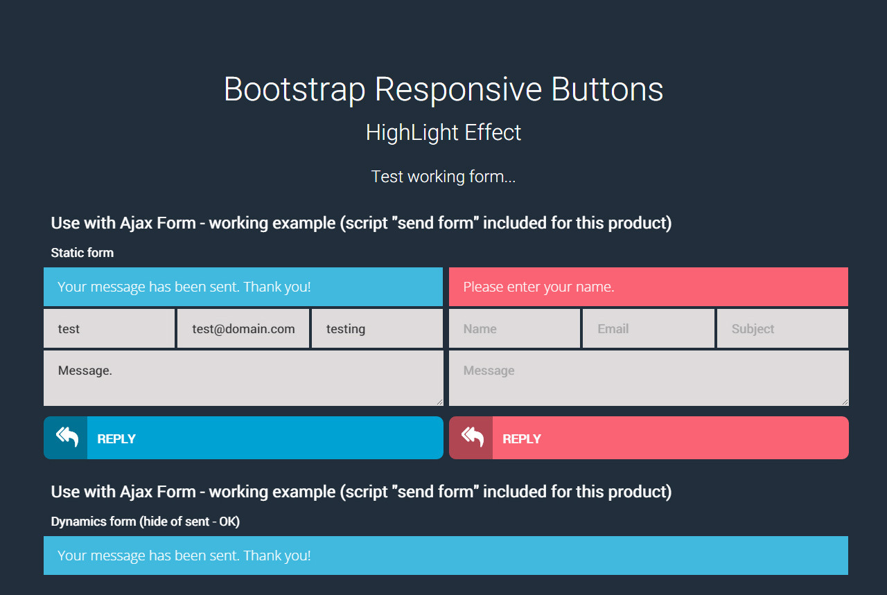 Bootstrap responsive button by excellent dynamics codecanyon for Bootstrap table responsive