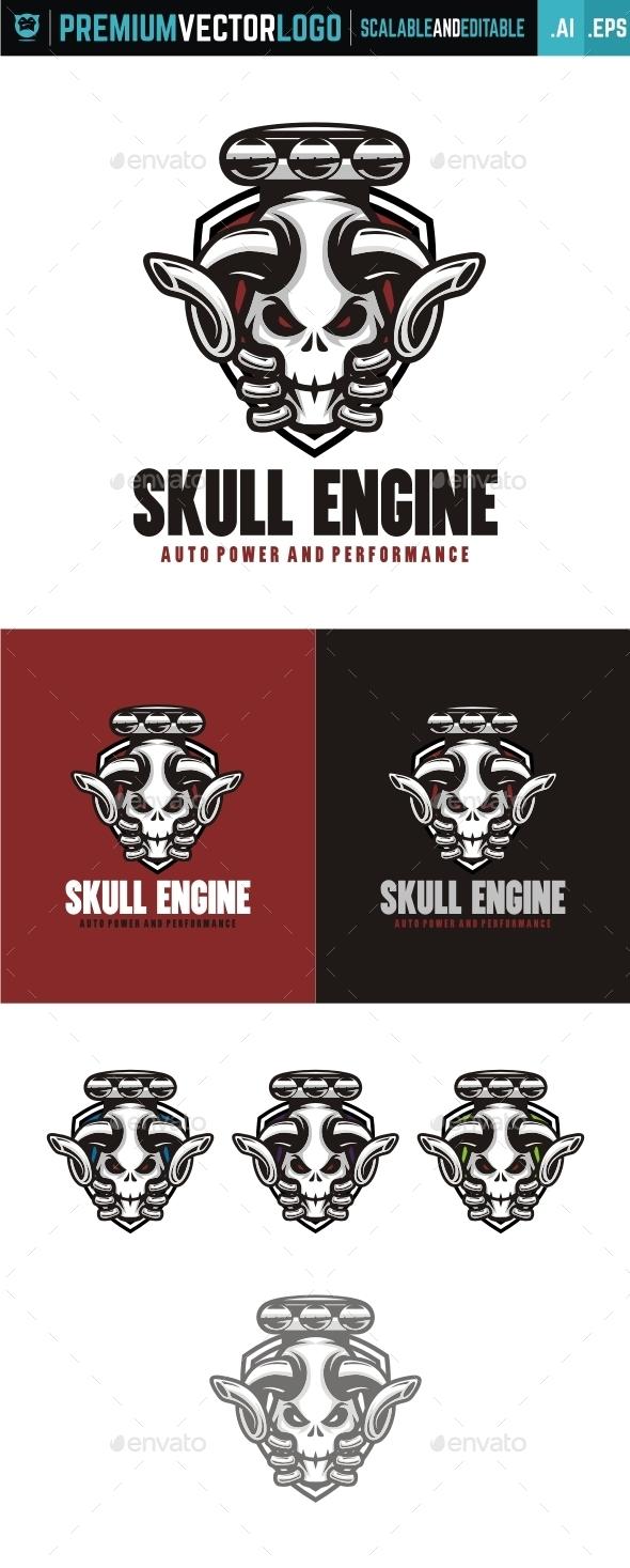Skull Engine - Symbols Logo Templates