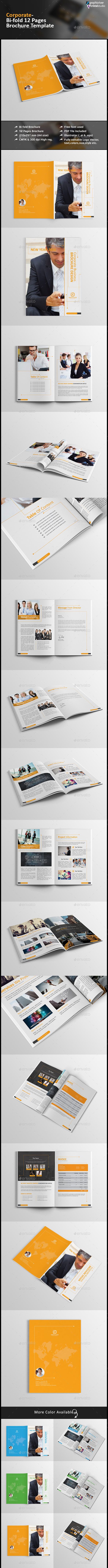 Corporate Business Brochure-12 Pages - Corporate Brochures