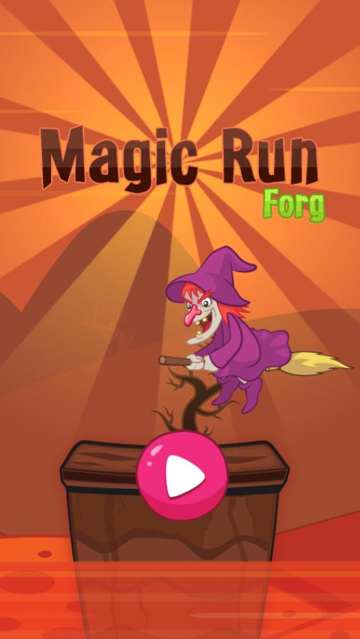 Magic Run-html5 mobile game
