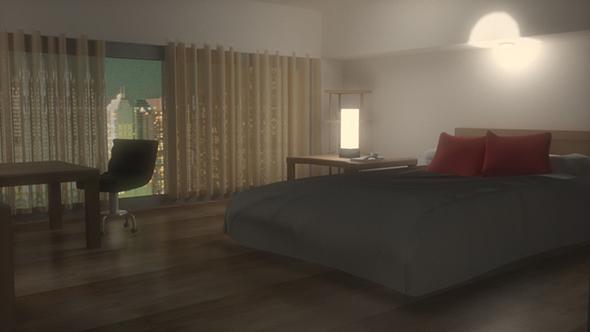 Room hotel - 3DOcean Item for Sale