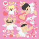 Valentines Day Cartoon Cupid  - GraphicRiver Item for Sale