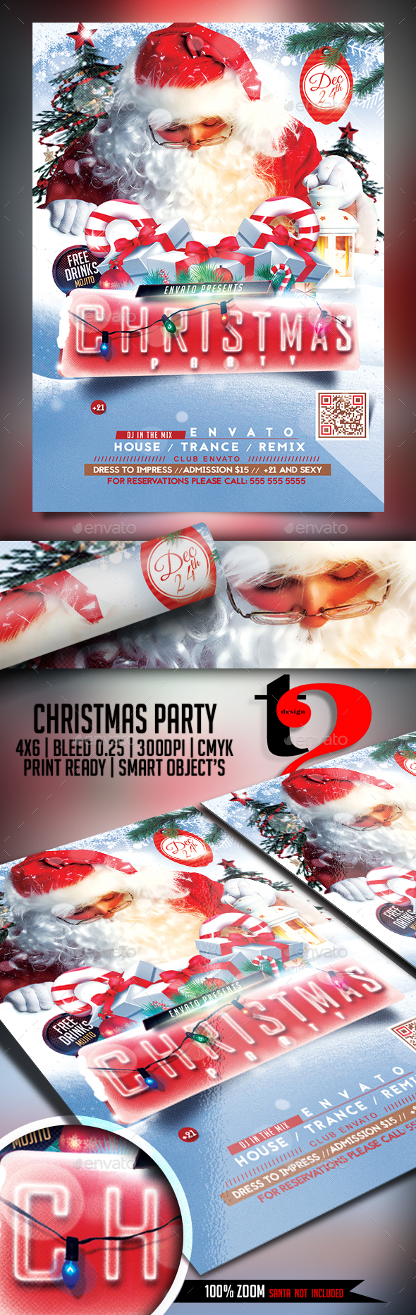 Christmas Party Template - Holidays Events