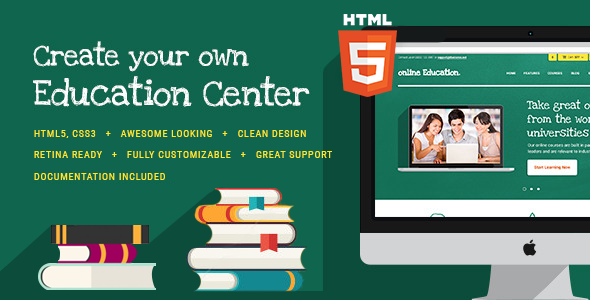 Education Center & Training Courses HTML Theme