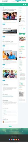 11 blog with sidebar.  thumbnail