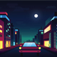 City Night Illustration - GraphicRiver Item for Sale