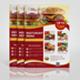 A4 Delicious Food Menu DS Flyer - GraphicRiver Item for Sale