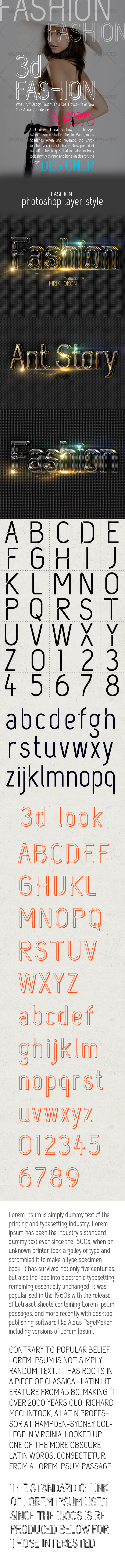 Fashion Font - Decorative Fonts
