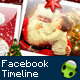 Christmas facebook timeline - Santa Claus - GraphicRiver Item for Sale