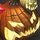 Low Poly Halloween Pumpkins - 3DOcean Item for Sale