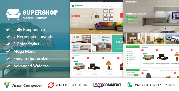 Supershop – Responsive WooCommerce WordPress Theme