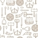 Seamless Viking Background - GraphicRiver Item for Sale