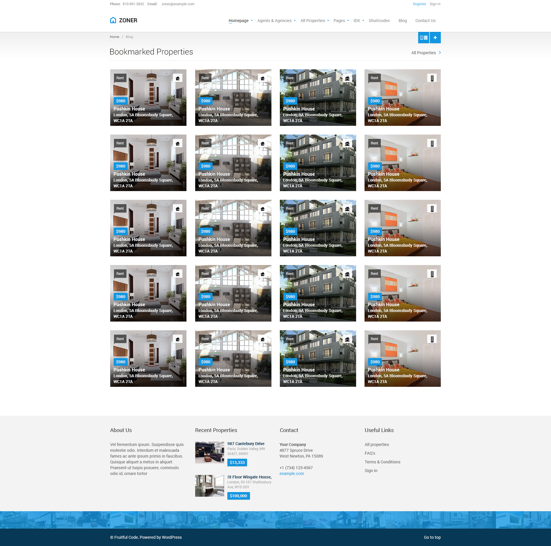 Zoner - Real Estate PSD Template by fruitfulcode | ThemeForest