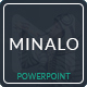 Minalo - Business Powerpoint Template - GraphicRiver Item for Sale
