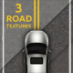 3 Asphalt textures - GraphicRiver Item for Sale
