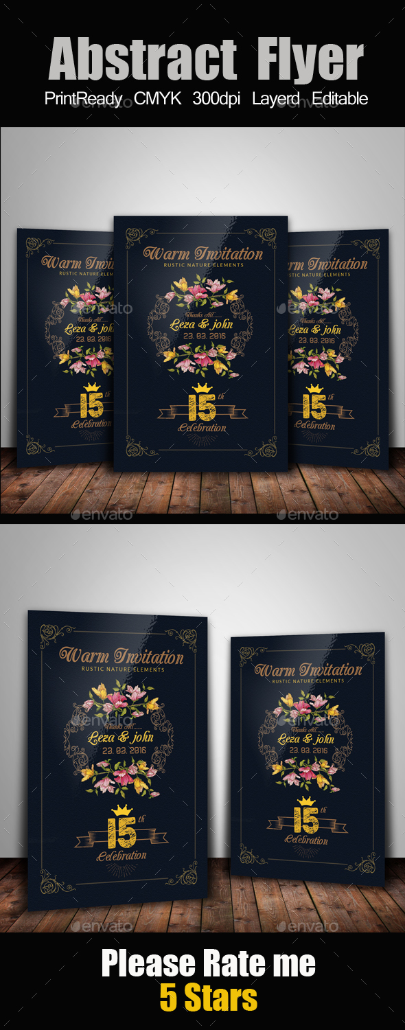 Luxury Invitation Card - Cards & Invites Print Templates