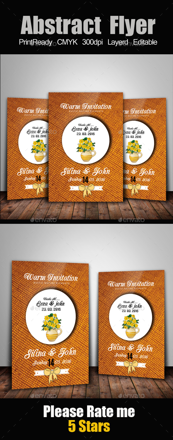 Simple Invitation Card - Cards & Invites Print Templates