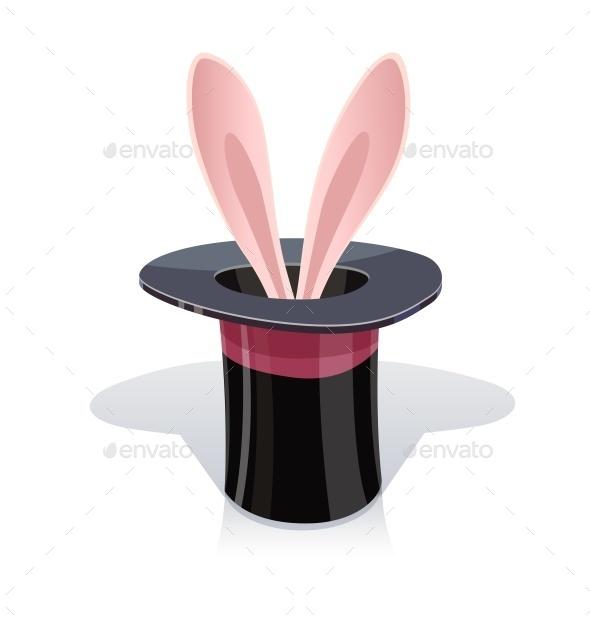 Magic Cap and Rabbits Ear - Miscellaneous Vectors