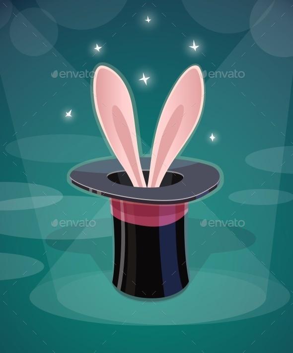 Magic Cap and Rabbits Ear - Abstract Conceptual