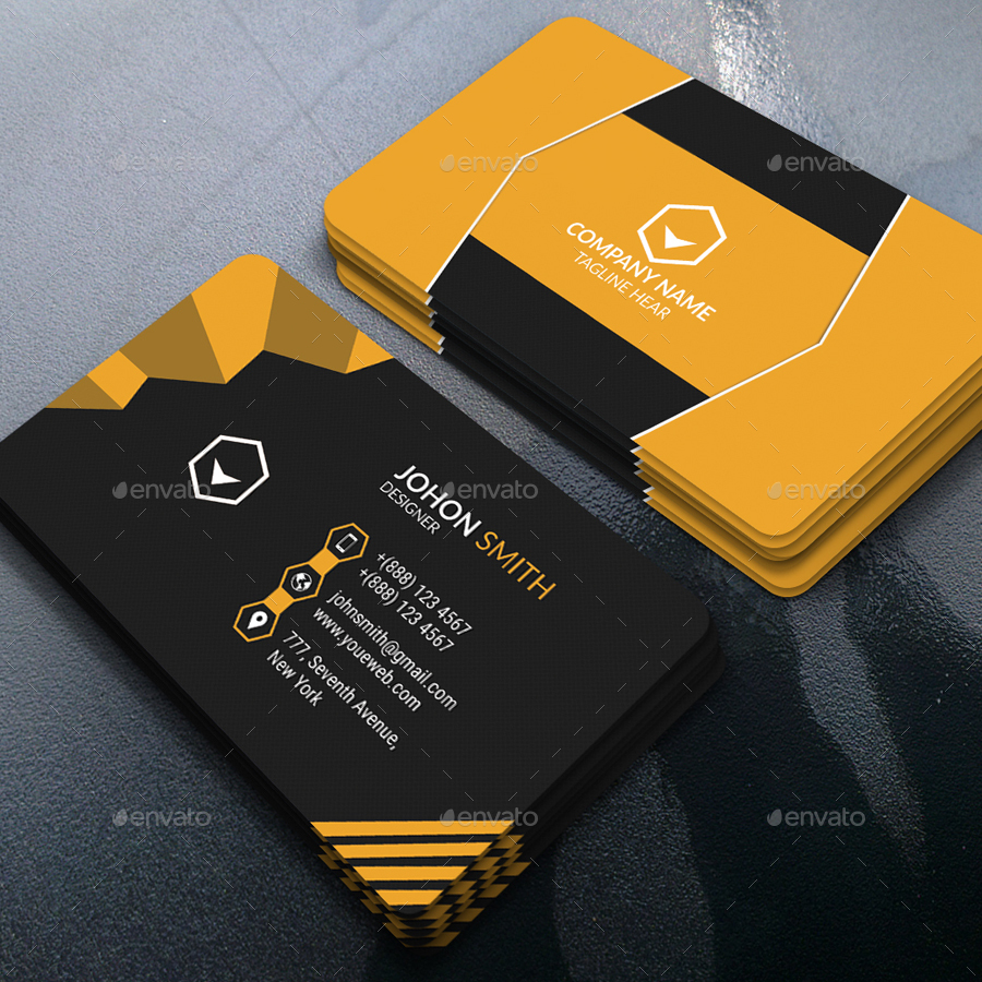 Modern Business Card by saiful_islam | GraphicRiver