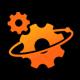 Planet Gear Logo - GraphicRiver Item for Sale