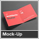 Square Bi-Fold / Half-Fold Brochure Mock-Up - GraphicRiver Item for Sale