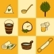 Set Of Hand Drawn Sauna Icons - GraphicRiver Item for Sale
