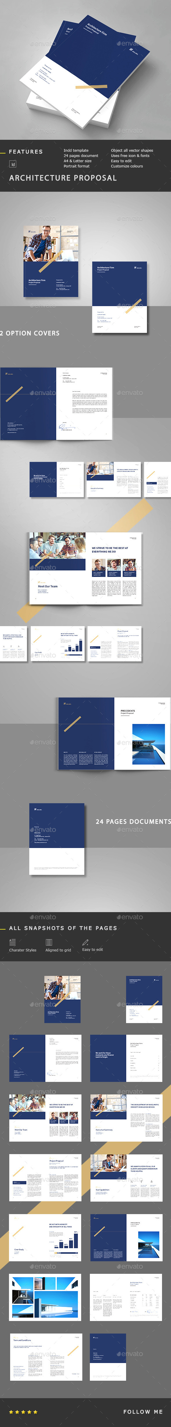 Architecture Proposal  - Proposals & Invoices Stationery