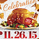 Turkey Day Flyer Template - GraphicRiver Item for Sale
