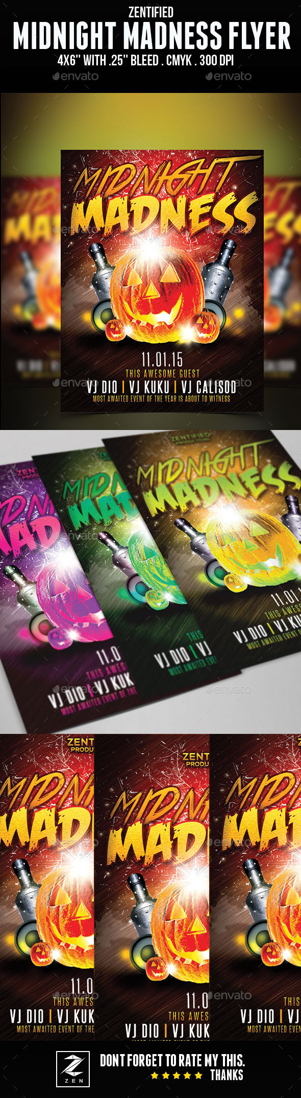 Midnight Madness Flyer - Holidays Events