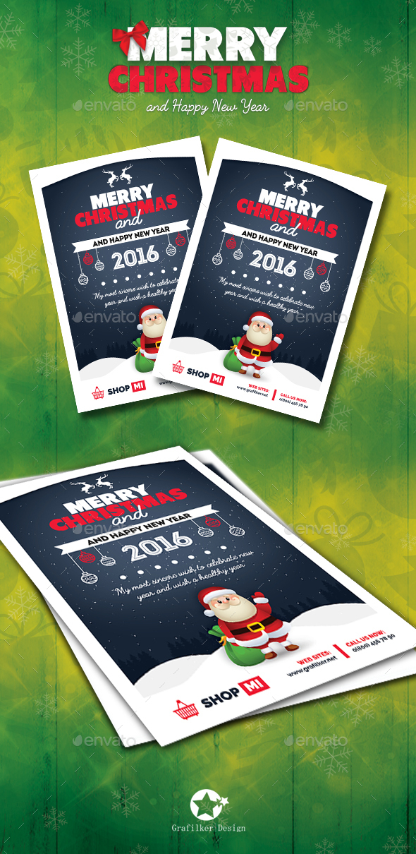 Christmas Flyer Templates - Corporate Flyers