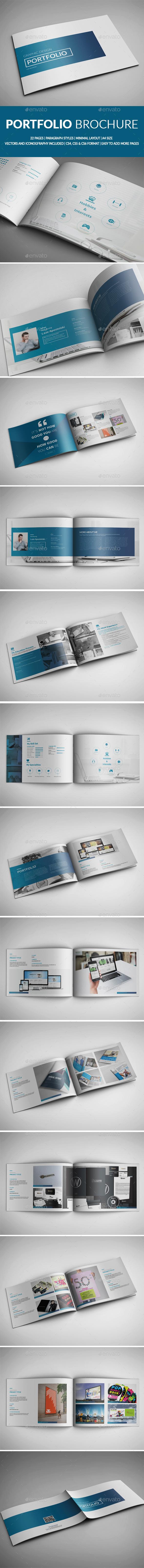 Portfolio Template - Brochures Print Templates
