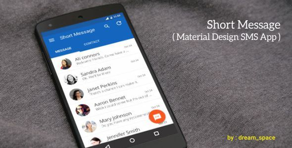 Short Message - Android SMS App - CodeCanyon Item for Sale