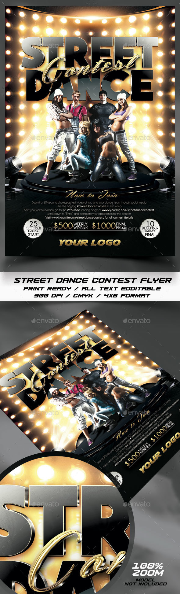 Street Dance Contest Flyer - Events Flyers