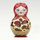 Babushka Dolls Logo Reveal - VideoHive Item for Sale