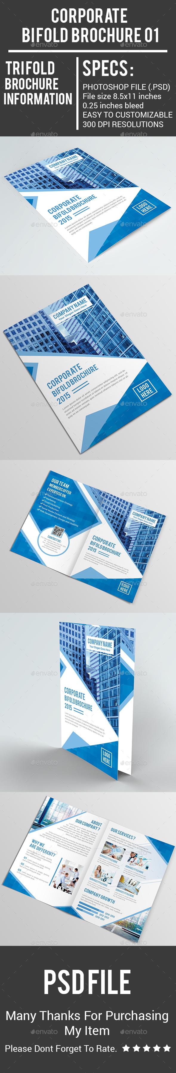 Corporate Bi Fold Brochure 01 - Corporate Brochures