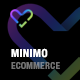 Minimo - Minimal WordPress WooCommerce Theme - ThemeForest Item for Sale
