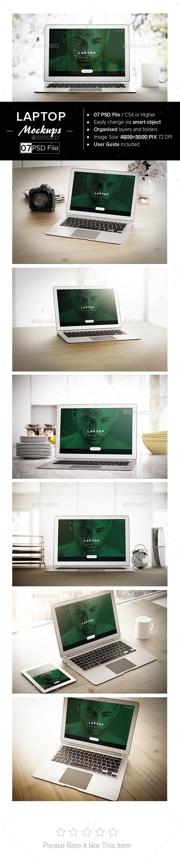 Laptop Mock-Up - Laptop Displays