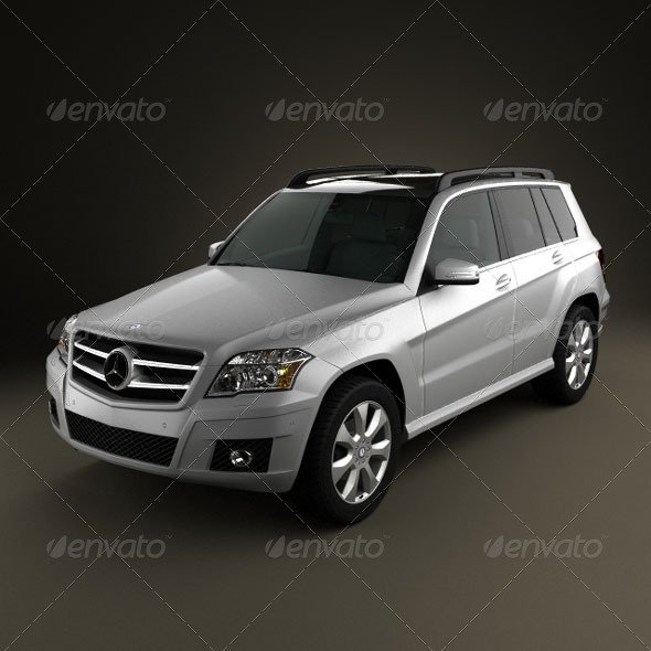 Mercedes-Benz GLK 2010  - 3DOcean Item for Sale