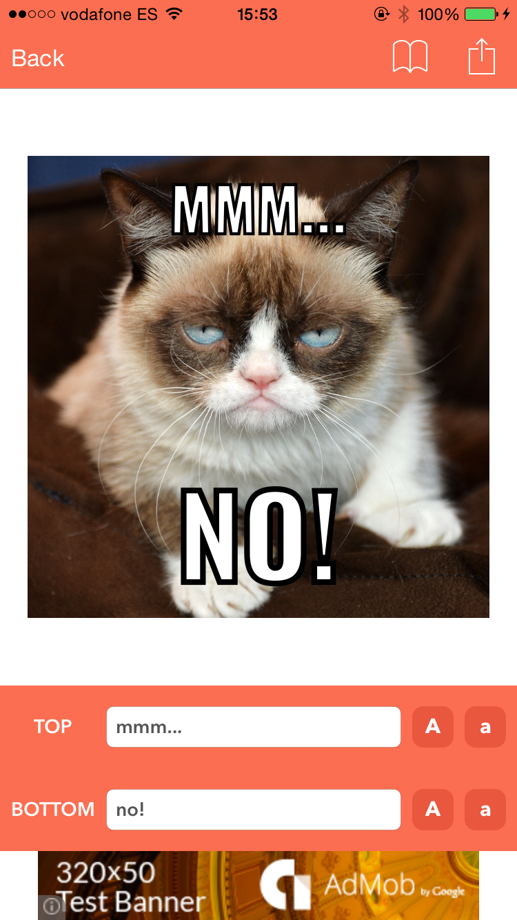 captura3 meme generator ios swift app by rssyow codecanyon,Meme Generator Iphone App
