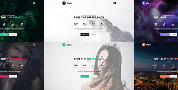 Doris – Creative Coming Soon Template