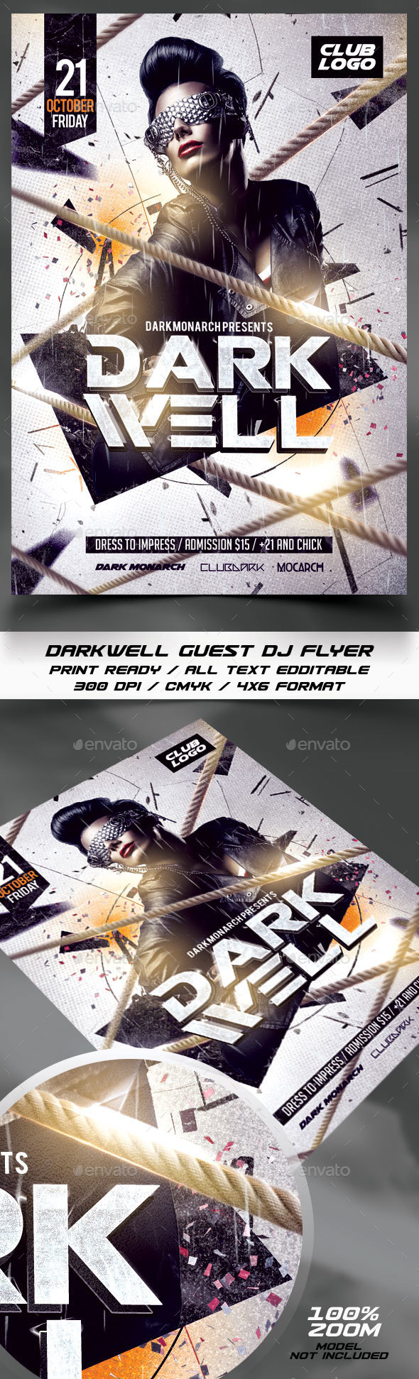 Guest Dj Flyer Template - Events Flyers